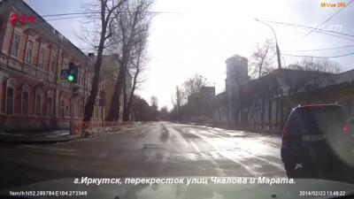 Подборка Аварий и ДТП 23 02 2014.Car Crash Compilation 23 02 2014 HD