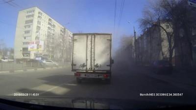 Уборка дорог в Брянске