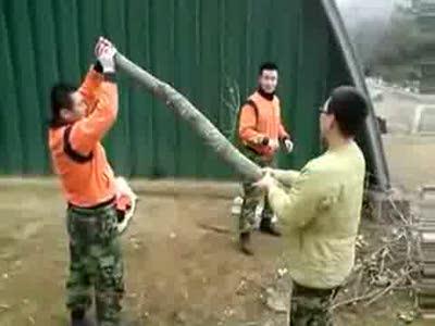 Деревянный спецназ