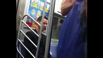 Keanu Reeves Being a Classy Guy (NYC Subway)
