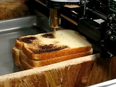 Графика на тостах