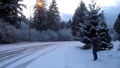 Winter Drift from Subaru Impreza WRX - дрифт на Субару Импреза WRX