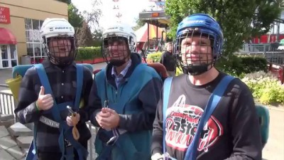 SCAD Tower Worlds Most Crazy Terrifying Free Fall drор Ride EVER POV Tivoli Friheden Denmark