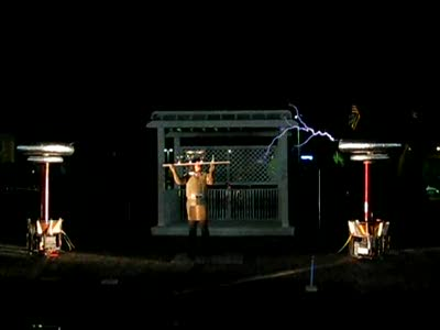 Ghostbusters Tesla coils