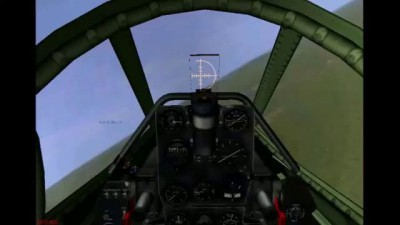 Russian P 39 Dogfighting with German Me 262 Jet Fighter