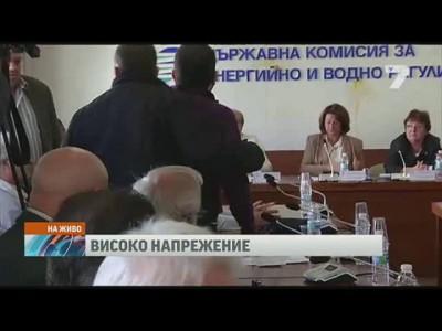 25.09.14 Болгария. Скандал на заседании ДКЕВР