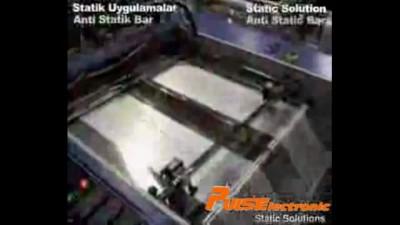 Видео с выставки - Снятие статического заряда