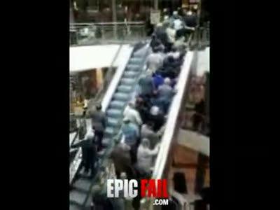 Вверх по эскалатору