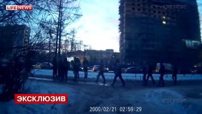 Избиение активистов «СтопХам» в Петербурге