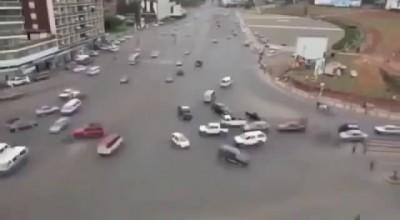 Перекресток в Эфиопии