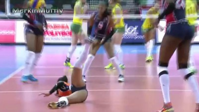 Winifer Fernandez - Beautiful Indoor Volleyball Girl