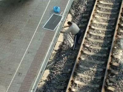 Первый пассажир станции Донецк