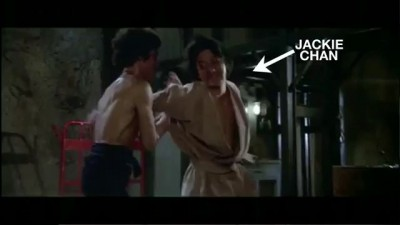 Jackie Chan Picks A Fight With Bruce Lee