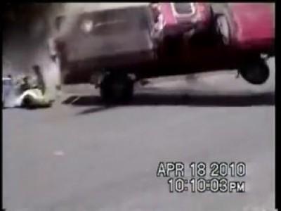 Страшная авария на границе с Мексикой
