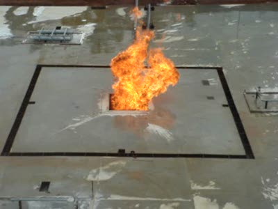 Тушение жидкого природного газа