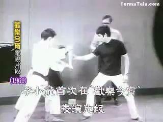 Брюс Ли (Bruce Lee) - легендарный удар