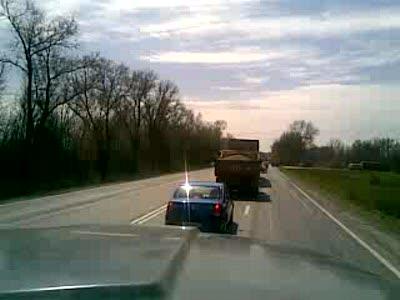 чепе на дороге Батайск