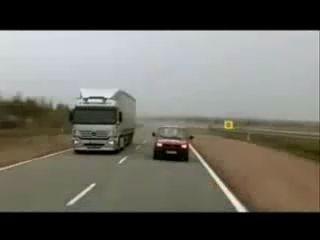 Тормозной путь грузового автомобиля