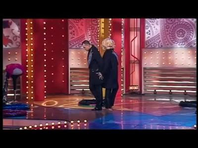 Артисты оригинального жанра,Шоу трансформация костюмов Екатерина и Дмитрий ТВЦ 2012