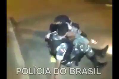 Полиция в РФ и Бразилии