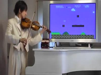 Озвучка Марио на скрипке