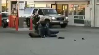 AMERICAN COP'S VIOLENCE