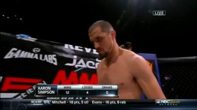 Burkman vs. Simpson @ZProphet_MMA
