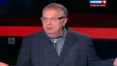 Жириновский чморит десантников, попавших в плен.