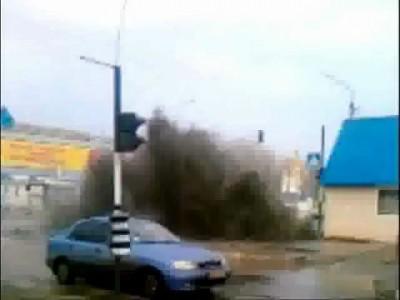 Бурление говн в Луганске