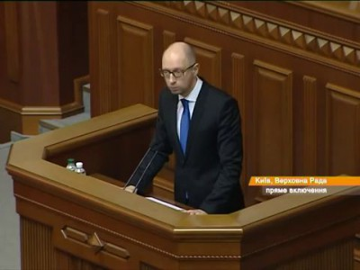 Яценюк: Россияне никуда не денутся- газ пойдёт через Украину