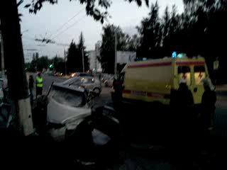 Последствия ДТП Владимир 19-06-2012