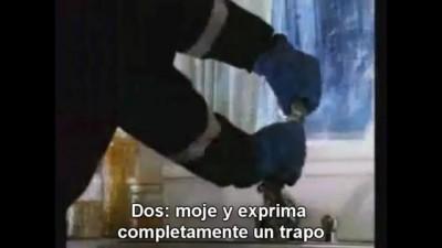 Incendio de aceite de cocinar / Kitchen oil fire (subtítulos en español)