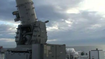The Powerful US CIWS in Action Against Poor Boat - CIWS Livre Fire Exercice