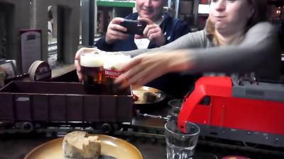 Паровоз с пивом