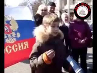 """Мальчик в Крыму """"под дулом автомата"""" говорит..."""