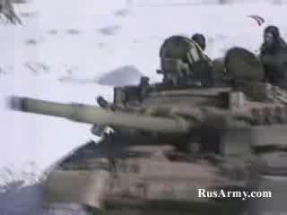 Танк Т80У и Т90