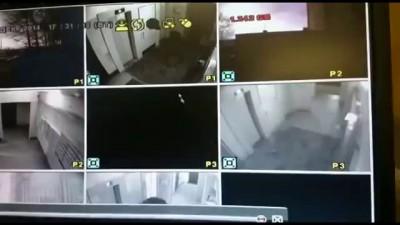 Видео с камеры наблюдения: избиение бабушки