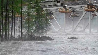 Крушение моста на Улак-Эльга