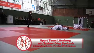 Sport Team Lüneburg mit Trainer Oleg Derkach - International Turnier in Schwerin 2016