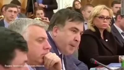 Авоков vs саакашвили - музыкальная пауза