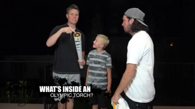 What's inside an Olympic Torch?