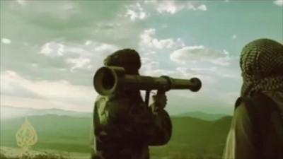 Моджахеды подбили ракетой