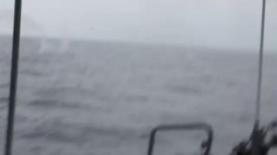 """Неудачный пуск ЗРК ОСА-М с противолодочного корабля """"Тернополь"""" U-209"""
