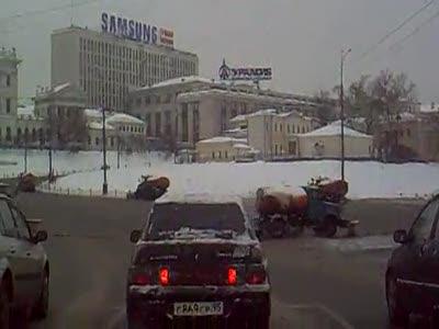 Вальс снегоуборочных машин