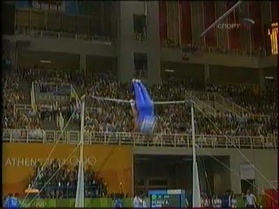 Алексей Немов - олимпийские игры в Афинах 2004