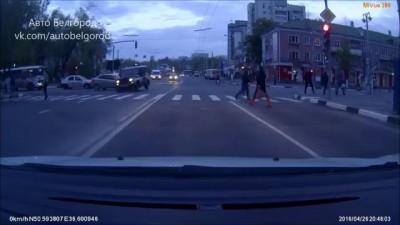 #Сальто полицейского уазика 26.04.16 г. г. Белгород
