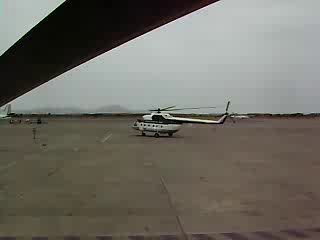 Сложный пилотаж на Ми-8