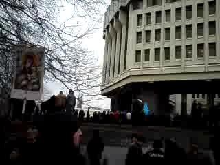Митинг в Симферополе 26 февраля 2014 года