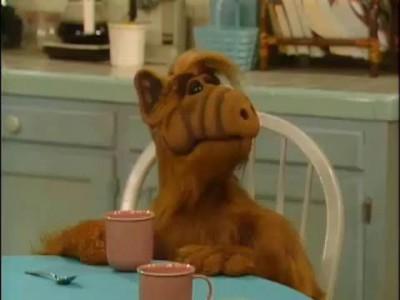 Alf meets grandma