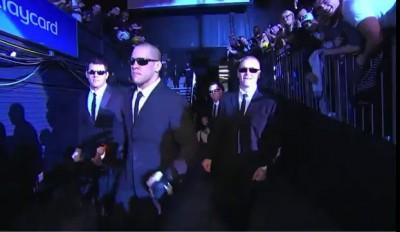 Выход бойца UFC Джеймса Те-Хуны